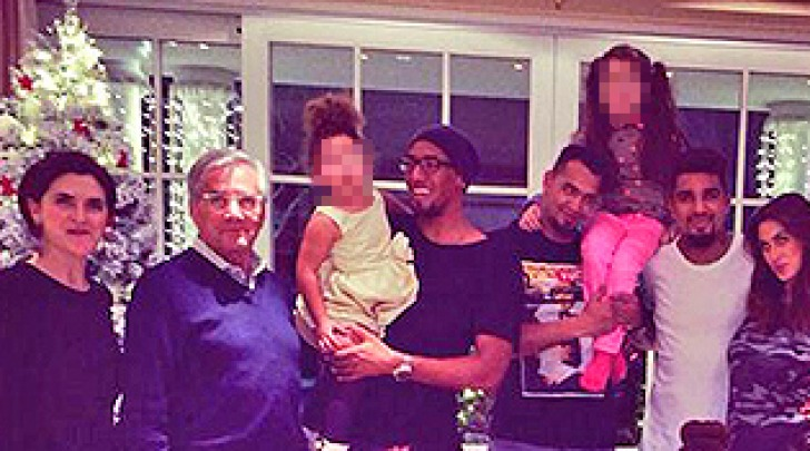 Famiglia Boateng e Satta
