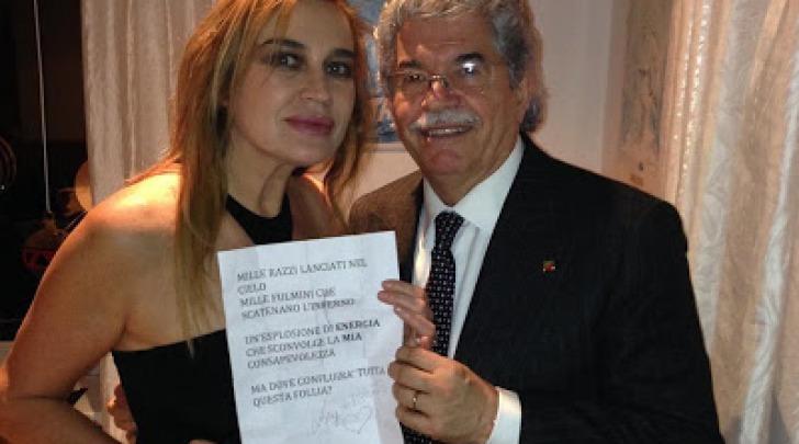 Lory Del Santo e Antonio Razzi