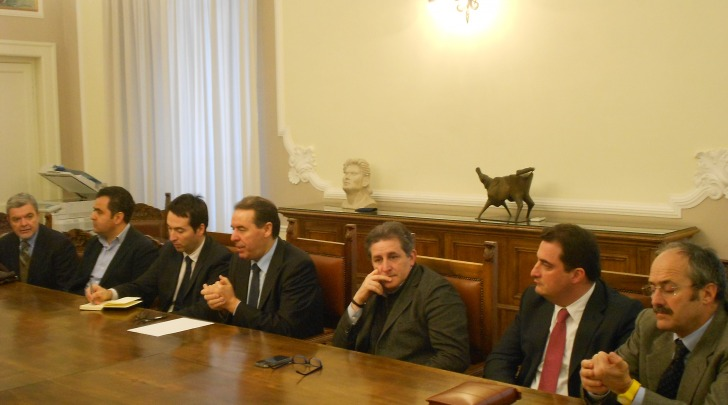 Di Giuseppantonio ed i sei assessori dimissionari