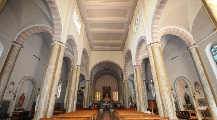 La chiesa di Santa Maria Assunta a Silvi