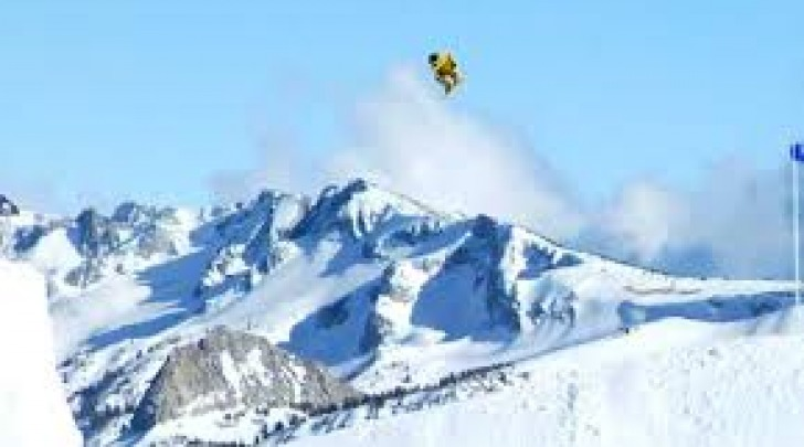snowboard slopestyle.