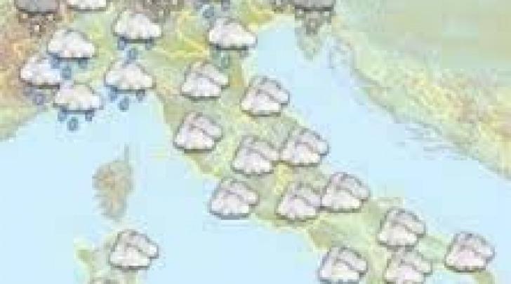 Previsioni meteo-arrivo pioggia