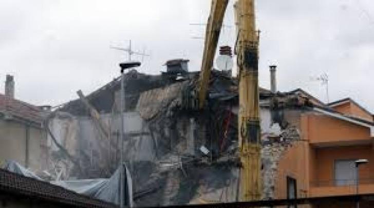 demolizioni- post sisma