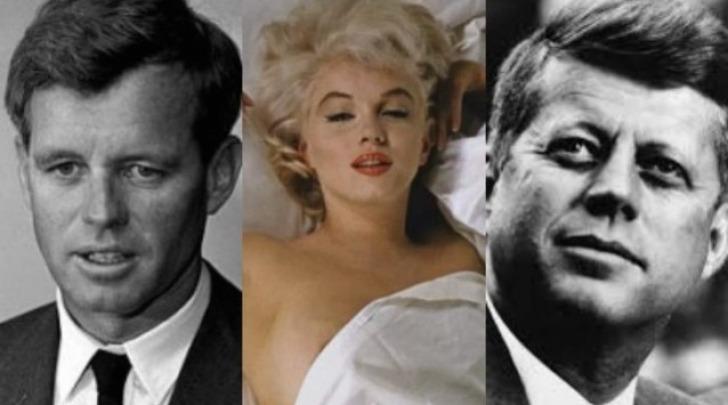 Robert Kennedy, Marylin Monroe, Jonh F. Kennedy