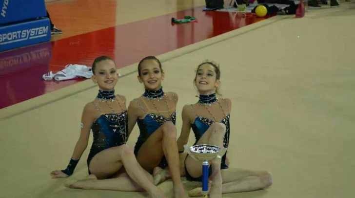 Le tre giovanissime campionesse dei Regionali