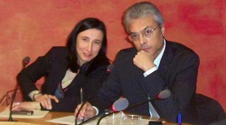 Letizia Marinelli e Gianni Chiodi