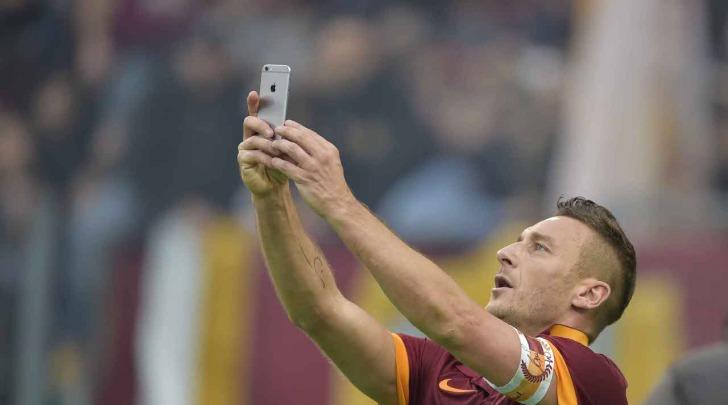 Selfie Francesco Totti