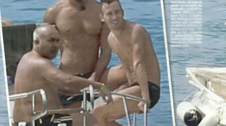 Gabriel Garko in barca (Chi)