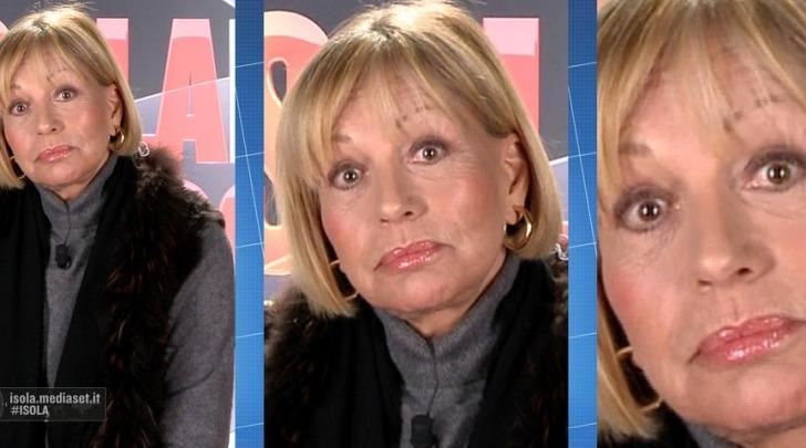 "Catherine Spaak a ""L'Isola Dei Famosi"""