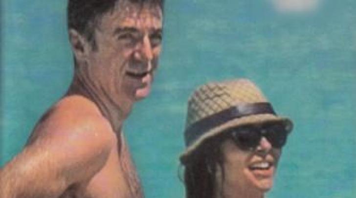 Sabrina Ferilli e Flavio Cattaneo