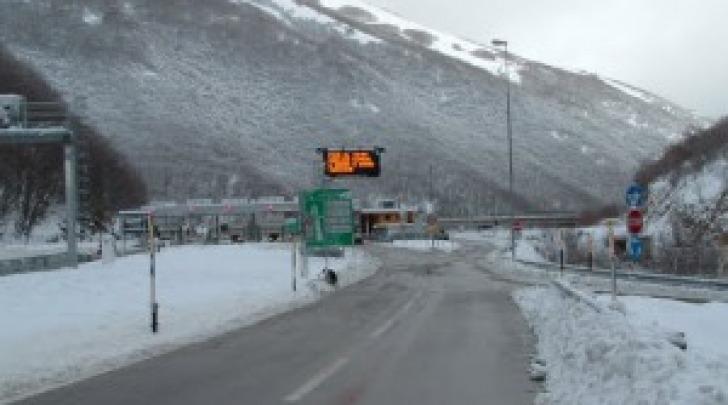 Autostrada svincolo Tornimparte