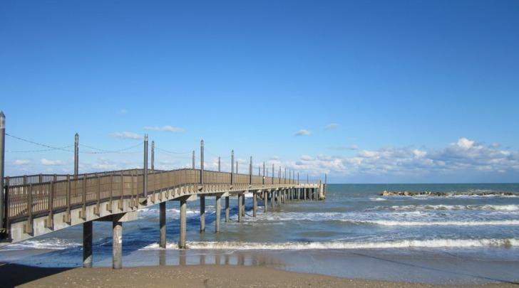 Il Pontile e la spiaggia Sirena di Francavilla al Mare