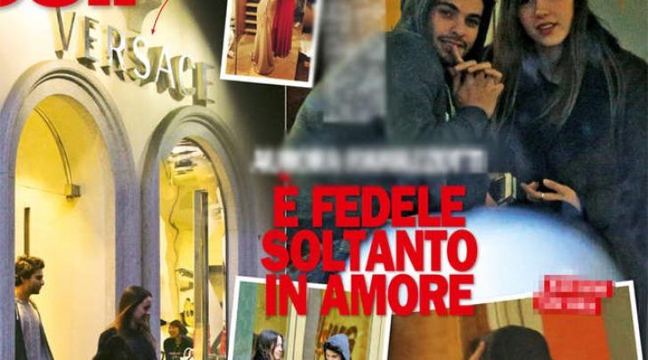 Aurora Ramazzotti e il fidanzato Edoardo a Milano (Chi)