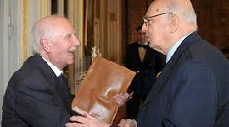 Nevio Felicetti-Giorgio Napolitano