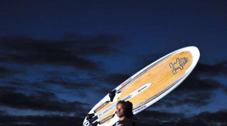 Alberto Menegatti, campione di windsurf italiano trovato morto a Tenerife (Facebook)