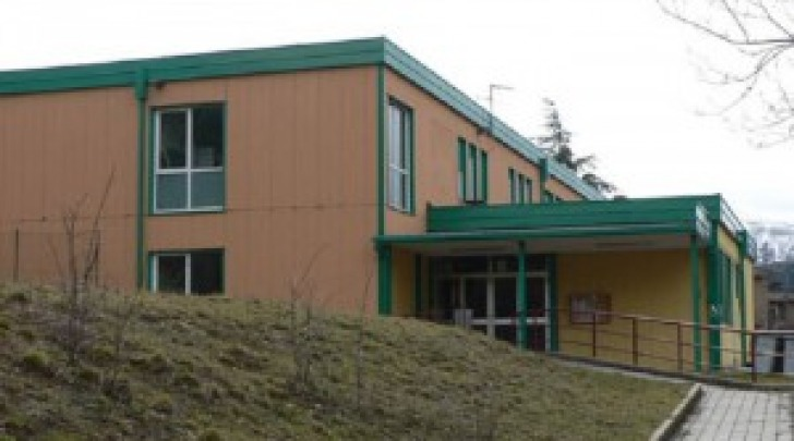 scuola Santa Barbara-L'Aquila