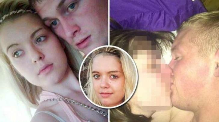 Charlotte Bodes con il suo fidanzato e il selfie incriminato (Mirror)