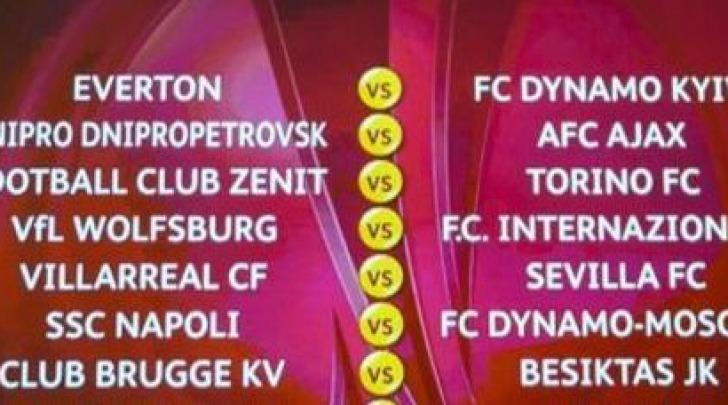 Europa League, i sorteggi degli ottavi di finale (Ansa)