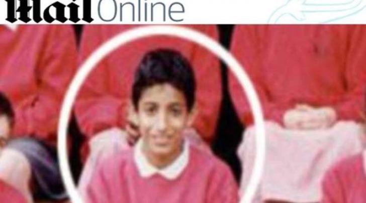 Jihadi John da bambino (Daily Mail)