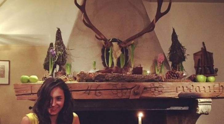 Caterina Balivo, alcune foto sul suo profilo Facebook