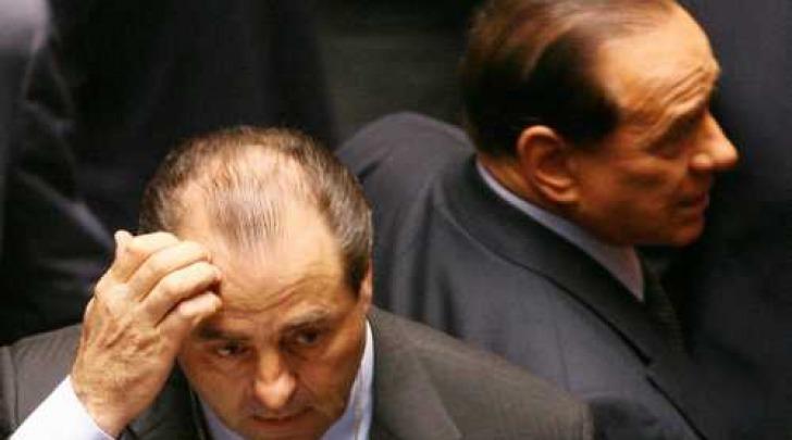 Antonio Di Pietro e Silvio Berlusconi