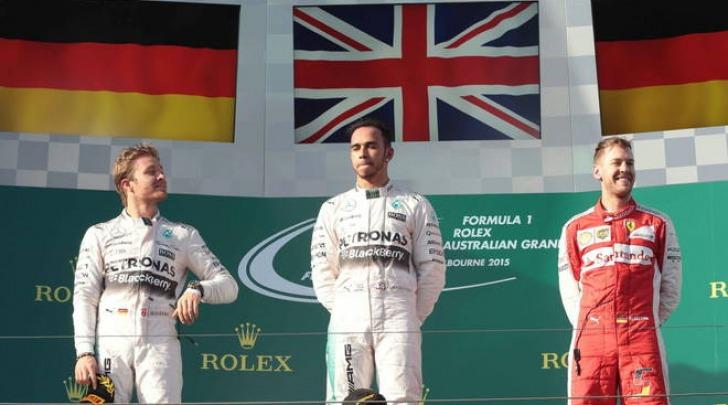 Sebastian Vettel, prima gara e primo podio in Ferrari