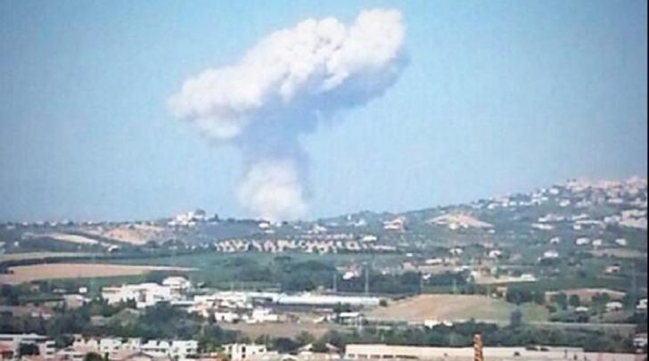 Esplosione ditta Di Giacomo