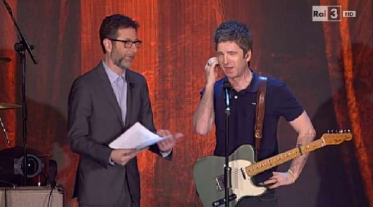 Noel Gallagher da Fabio Fazio