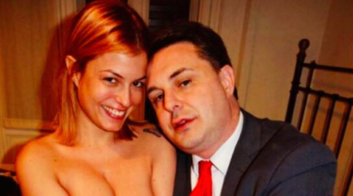 Sara Tommasi Nuda con Andrea Diprè