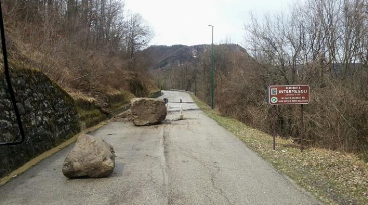 strada provinciale 43 tra Intermesoli e Fano Adriano