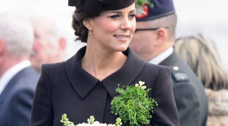 Kate Middleton alla parata per la festa di San Patrick