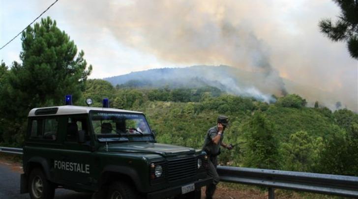 Corpo Forestale dello Stato, allarme incendio