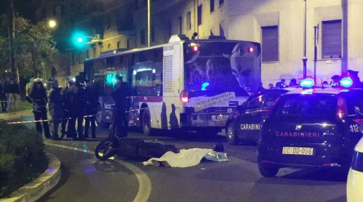Roma, incidente mortale a piazza Istria