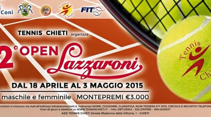 seconda edizione torneo nazionale Open Lazzaroni CH