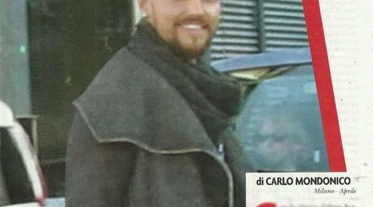 Valerio Scanu con il nuovo taglio di capelli (Novella2000)
