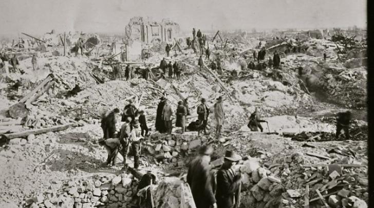 Terremoto Marsica-foto storiche