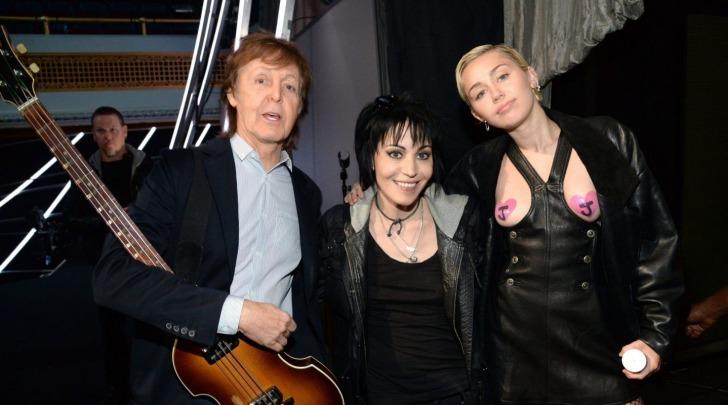 Miley Cyrue e Paul McCartney