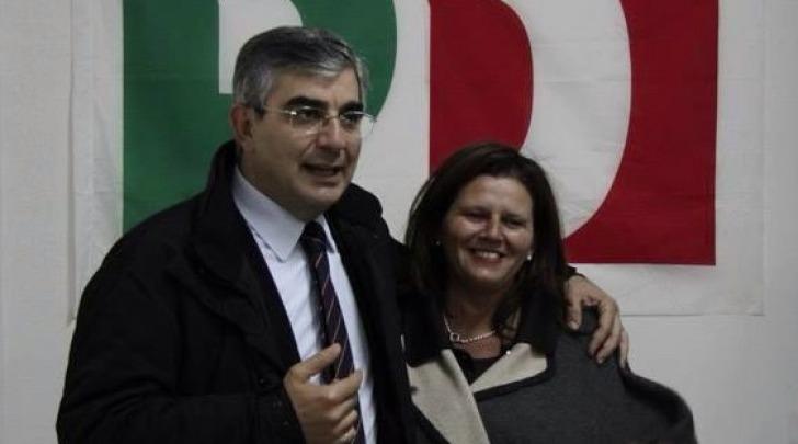 Luciano D'Alfonso e Anna Maria Bacchetta
