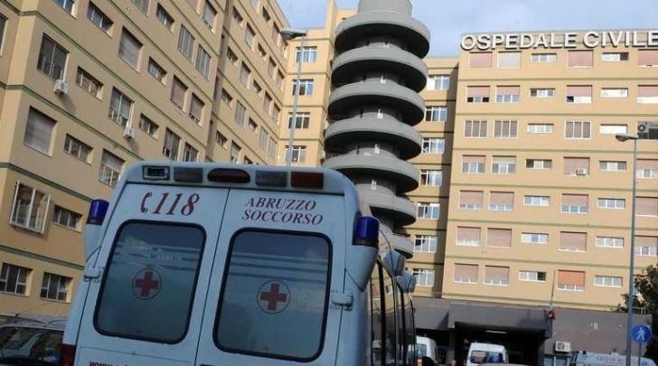 """L'ospedale """"Spirito Santo"""" di Pescara"""