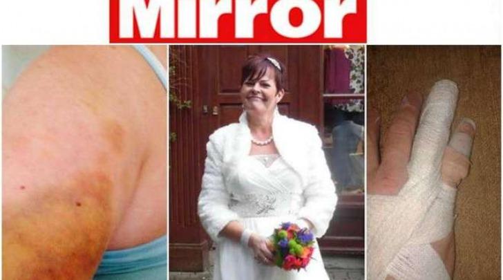 La sposa picchiata (Mirror)
