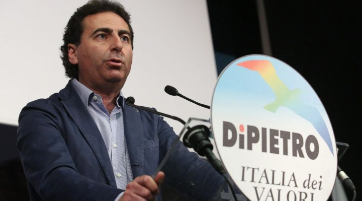Il segretario nazionale dell'Italia dei Valori Ignazio Messina