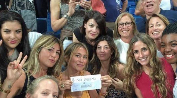 Ilaria D'Amico e le Wags Italiane