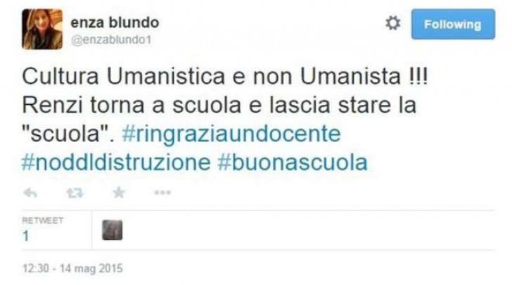 Gaffe di Matteo Renzi, il commento degli utenti
