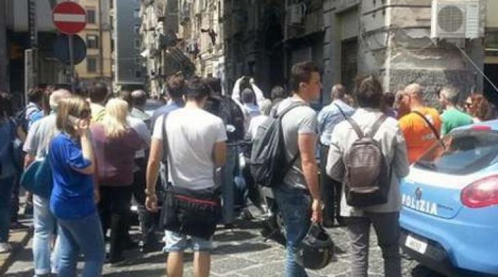 Agguato all'università di Napoli