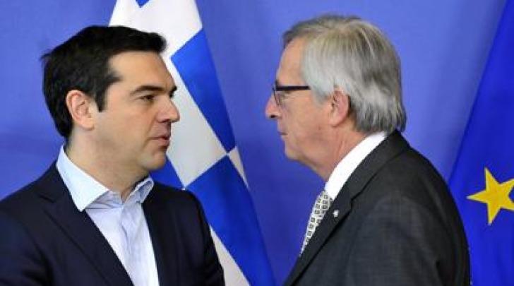 Tsipras e Junker
