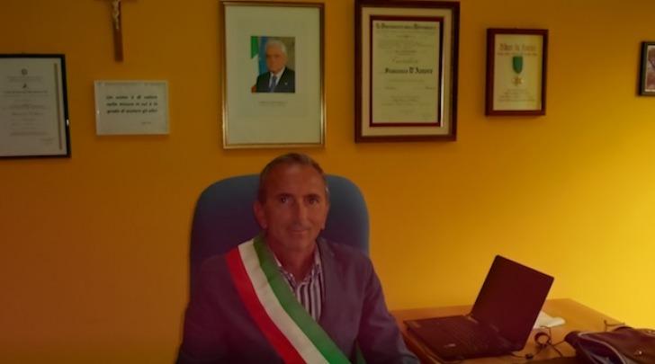 Il sindaco di Fagnano Alto, Francesco D'Amore