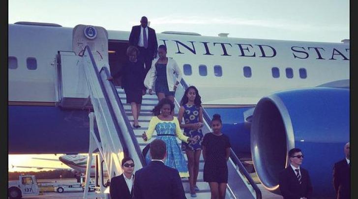 Michelle Obama - foto da twitter @FLOTUS