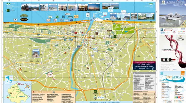 Cartina Pescara