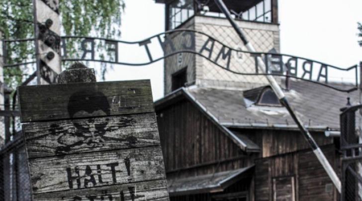 Auschwitz, foto da instagram