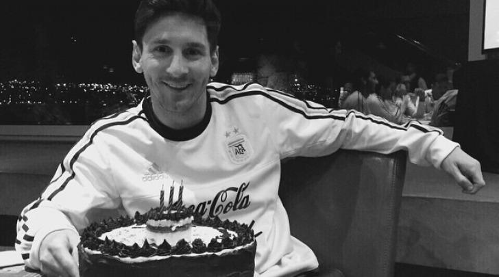 Leo Messi da Instagram